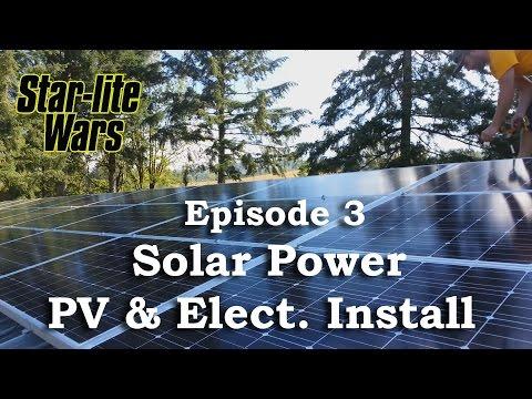 Star lite Wars - Epi 3 - Solar Installation
