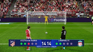 Gambar cover PES 2020 | Atletico Madrid vs Liverpool | UEFA Champions League | Penalty Shootout | Gameplay PC