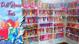 Doll Room Tour - Winx Club Collection (and other dolls...)