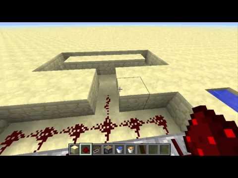 #Minecraft l (Cobblestone)ماين كرافت- طريقة صنع الة بناء الجدران / مصنع حجر