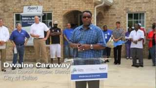 Ryan Foundation and Habitat for Humanity Revitalize South Dallas