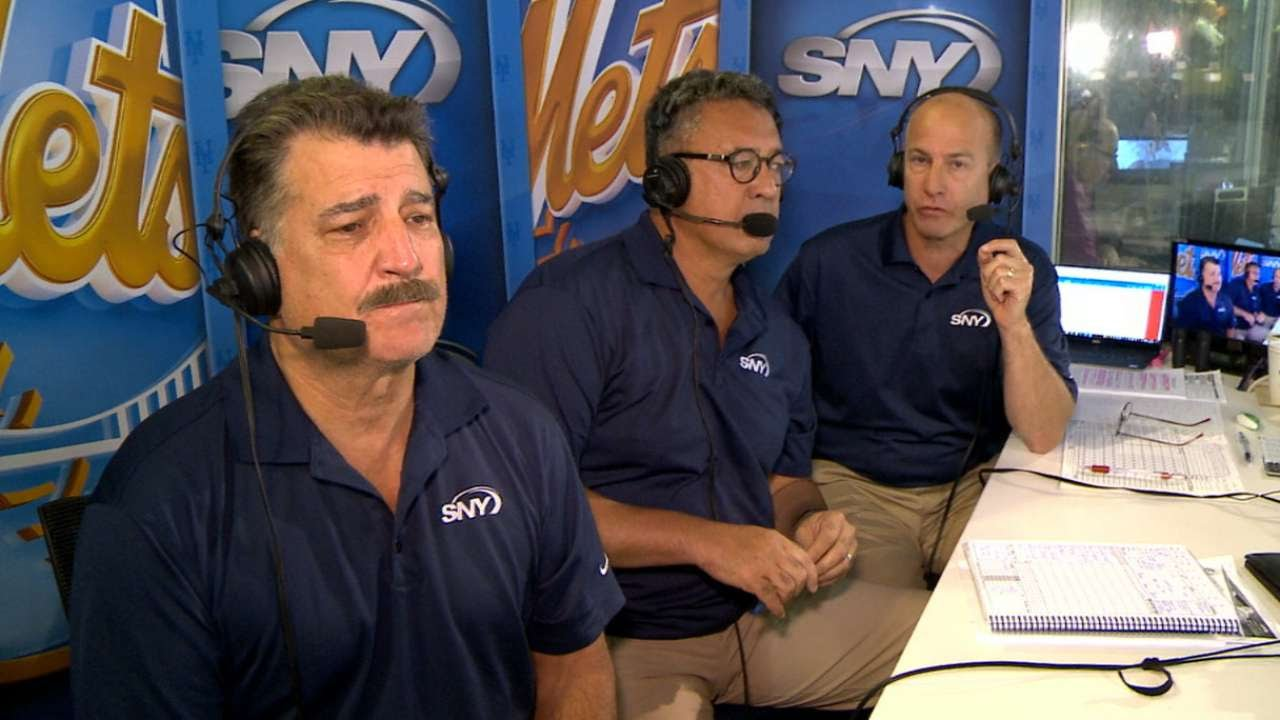 Image result for mets announcers in booth