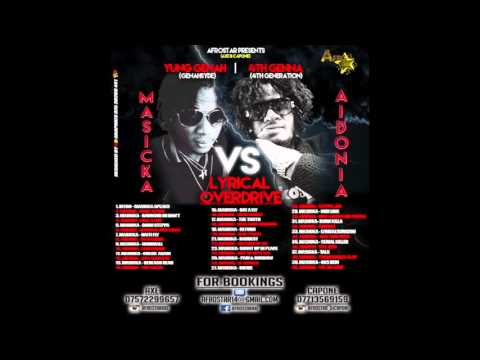New Dancehall Mix 2016 MASICKA VS AIDONIA 2016 (lyrical overdrive)