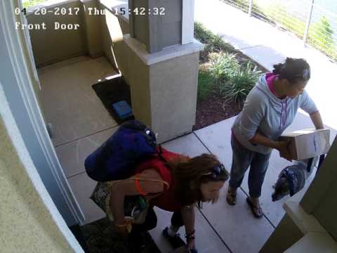 Redwood City, CA Package Theft
