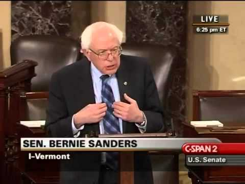 Bernie Sanders: Wall Street and Casino Capitalism (3/17/2010
