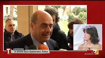 """Coronavirus, Nicola Zingaretti: """"No al panico ma sì alla responsabilità"""""""