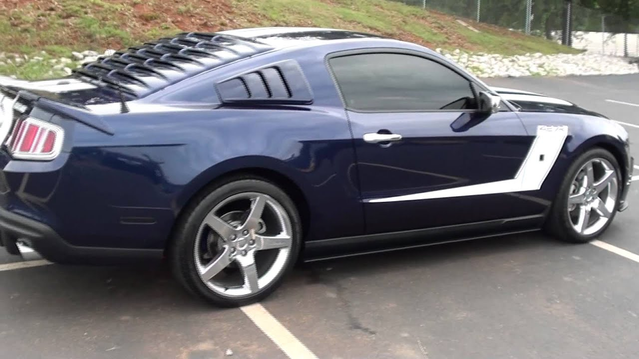 For Sale 2010 Ford Mustang Roush 427r Only 1524 Miles