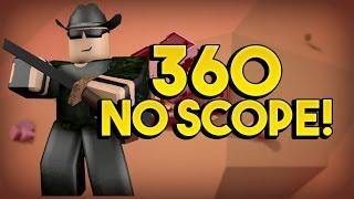 360 SENZA MIRINO! - RobLOX Apocalypse Rising