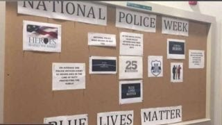 'Blue Lives Matter' tribute vandalized at Dartmouth