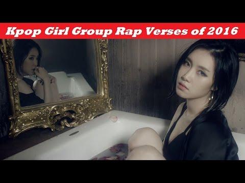 Every Kpop Girl Group Rap Verse of 2016