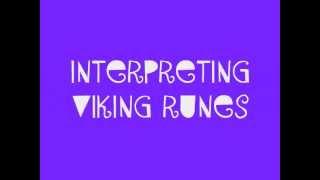 Interpreting Viking Runes