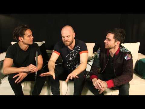[12-03-2016] Mark Dye interviews Will Champion and Guy Berryman from Coldplay