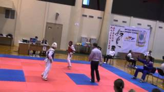 Тхэквондо Каскад на турнире в  г. Киров 2014 лучшие моменты HD