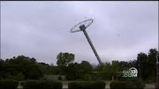 Six Flags Ride Comes Crashing Down