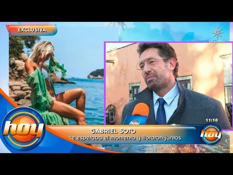 Gabriel Soto comparte detalles de cómo le pidió matrimonio a Irina Baeva | Hoy