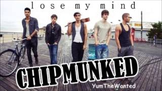 The Wanted - Lose My Mind [CHIPMUNKED]