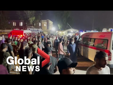 Baghdad hospital fire kills at least 27, rescuers search smoke-filled ward