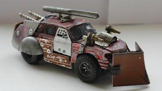 Машинка MAD MAX. Боевая модель(Машинка в стиле Безумного Макса (MAD MAX) или фильма