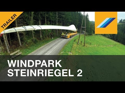 Expanding the windfarm Steinriegel at 1600m altitude - Trailer