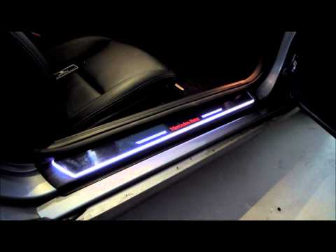 Moving Door Scarf Audi Door Stab Led Scuff A4 A5 A6