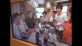 NHKスタジオパークの『あまちゃん じぇじぇじぇー展』の会場で放送さ...