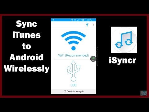 How to Sync Itunes music on Android