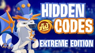 FIND ALL THE HIĎDEN CODES [EXTREME EDITION]   Animal Jam