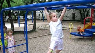 Claire Crosses the Monkey Bars Thumbnail