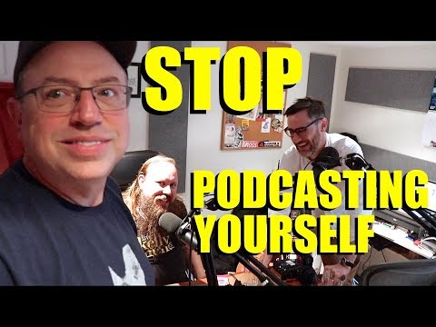 """BRENT BUTT GUEST APPEARANCE on """"STOP PODCASTING YOURSELF""""."""