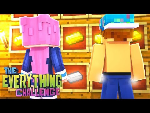 OUR FIRST ITEMS! | The Everything Challenge w/Lizzie #2