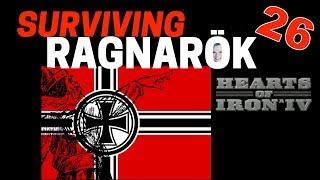 Hearts of Iron 4 - Challenge Survive Ragnarok! - Germany VS World  - Part 26