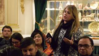 Ambassador of Pakistan to France met cross section of the Pakistan Community and briefed them on var