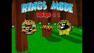 TENNIS TITANS -  Game House (RINGS MODE) ROUND 01 SHADY VS RUBIN