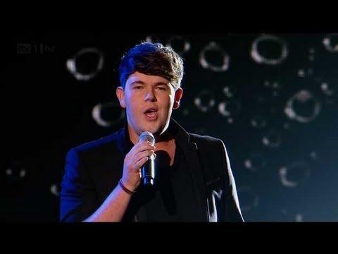 Craig Colton opens a Jar Of Hearts - The X Factor 2011 Live Show 1 - itv.com/xfactor