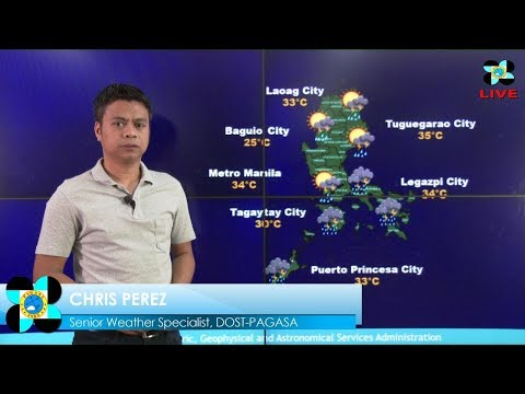 Public Weather Forecast Issued at 4:00 AM August 19, 2017