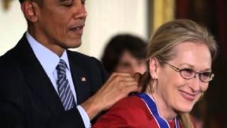Обама признался в любви актрисе Мерил Стрип