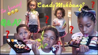 MUST WATCH!!! Q&A meets a candy mukbang By: Beautiishername
