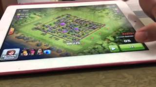 Clash of Clans Barch attacking strategy town hal 8