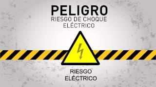 Peligro riesgo de choque eléctrico