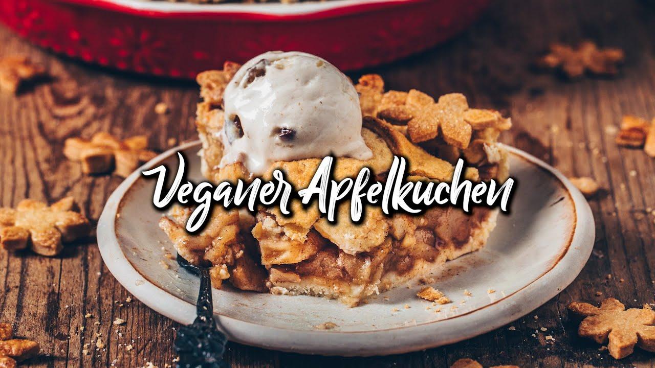 Apfelkuchen (Vegan Apple Pie) * einfaches Rezept