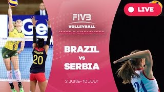vuclip Brazil v Serbia - Group 1: 2016 FIVB Volleyball World Grand Prix