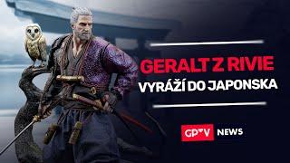 Geralt z Rivie vyráží do Japonska!   GPTV News #60