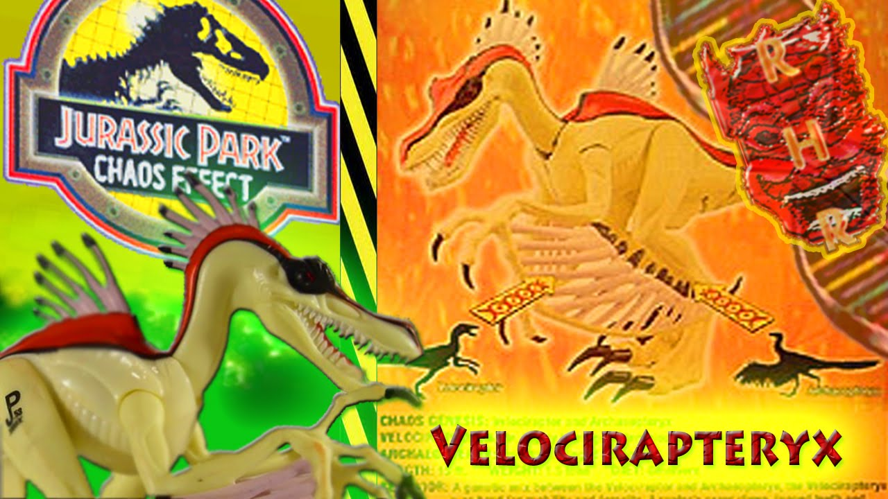 jurassic park toys chaos effect velocirapteryx review