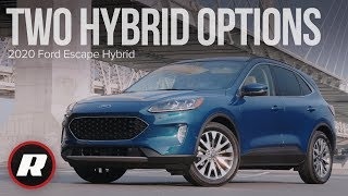 2020 Ford Escape Hybrid: 5 things you need to know about Ford's all-new small SUV