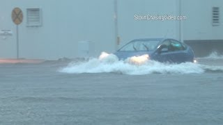 6/30/2014 Muscatine, IA Flash Flooding and Lightning B-Roll