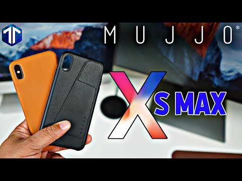 IPhone XS Max Mujjo Leather Cases Review!