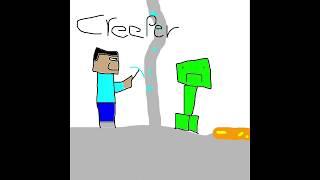 Creeper (Minecraft Parody of Imagine Dragons Thunder)