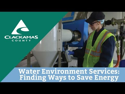 Water Environment Services: Finding Ways to Save Energy and Money