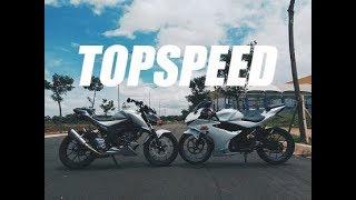 #148 TopSpeed GSX S150 vs GSX R150 Kok Beda Jauh?? | Battle Wheelie Yamaha R1