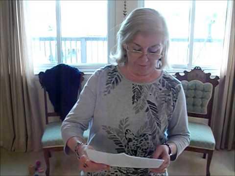 """Nancy Powell reads """"Let It Burn"""""""